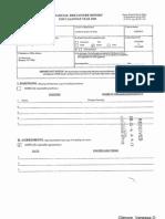 Vanessa D Gilmore Financial Disclosure Report for 2009