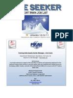 Fort Irwin Job Listing 12.2.11