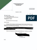 James E Kinkeade Financial Disclosure Report for 2005