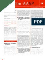 boletim AASP nº 2740 - 11 a 17 julh2011