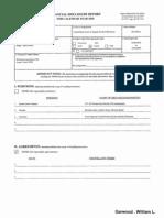 William L Garwood Financial Disclosure Report for 2010