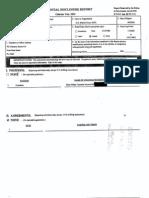 Kenneth L Ryskamp Financial Disclosure Report for 2003