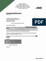 Susan J Dlott Financial Disclosure Report for 2010