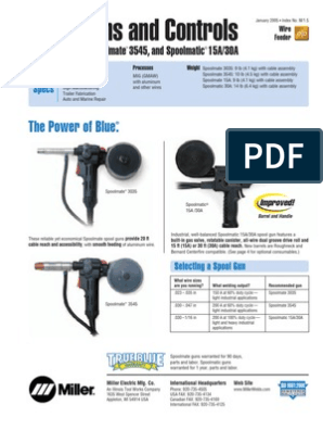 30a spool gun parts diagram miller MILLER SPOOLMATIC