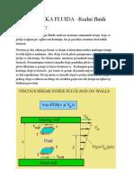 Mehanika fluida- Viskoznost