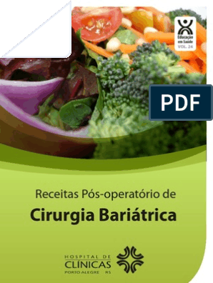 Dieta pastosa pos bariatrica receitas