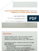 Inferring Cognitive States in Information Science