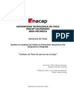 Seminario Análisis de Falla de Elemento Mecánico vía Asignatura Integrada
