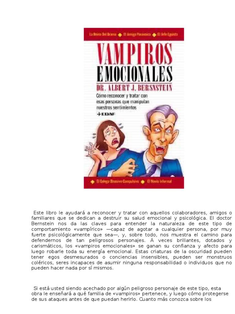 71965852 Vampiro Emocionales Albert J Bernstein