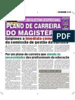 Boletim Especial Plano Carreira 2011