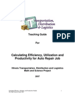TDL Auto Repair Efficiency Module