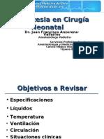Anestesia Neonatal