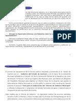Guia Para La Eleboracion Del Informe de Gobierno