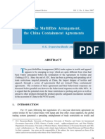 China Containment Agreement