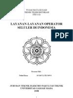 Layanan-layanan Operator Seluler Di Indonesia