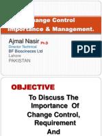 Change Control 1