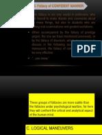 LOGIC - Module 4b the Fallacies of Content(Pt.2)