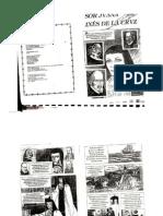 Lectura de Sor Juana y Reporte de Lectura
