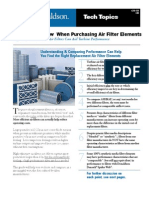 7 Things to Know When Purchasing Air Filter Elements