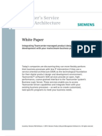 Siemens PLM Team Center Service Oriented Architecture Wp Tcm78 24383
