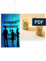 Investment Management in International Business