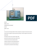 Concentric Heat Exchanger
