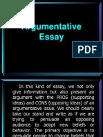 Argumentative Essay Eng2