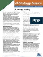 Soil Biology Testing