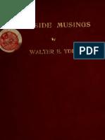 Walter E. Todd--Fireside Musings [Poems] (1908)