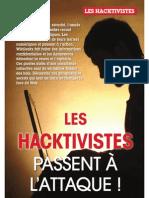 Les Hacktivistes passent à l'attaque