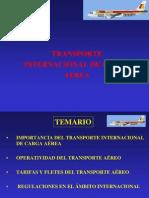 Transporte Internacional Carga Aerea