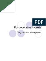 Post Operative Hypoxia