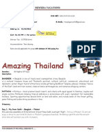 Quote for Thailand Corporate 6N7D