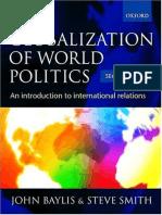 The Globalization Of World Politics 5th Edition Pdf