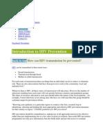 International HIV