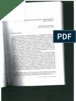 adquisición del lenguaje y componentes de la lengua Fdez Perez M