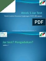 Week 5 Jar Test