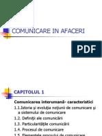 Curs 1 Comunicare in Afaceri