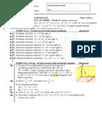 a3 Test Calcul Algebric Partea II