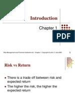 Risk Management Chapter01