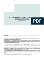 Informe Sobre Traduccion Editorial