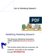 MAL 1 Introduction to Marketing Research