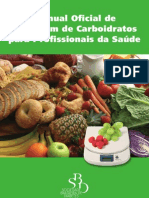 Manual Oficial de Contagem de Carboidratos para Profissionais da Saúde