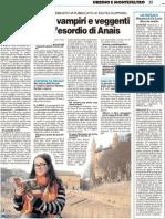 Lupi mannari, vampiri e veggenti nel romanzo d'esordio di Anais