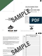 OSHA Mobile Crane Inspection Guidelines   Crane (Machine