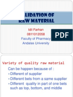 Valid of Raw Material-farhan
