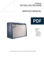 Blues Junior Service Manual: Contents on