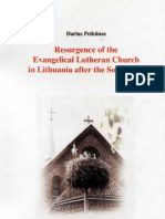 Resurgence of the Evangelical Lutheran Church in Lithuania After the Soviet Era