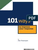 101 Ways to Improve Your Response