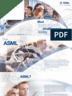 Asml 20110808 Careers Brochure ASML NL